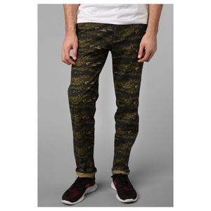 Koto Slim Tiger Camo Chino Military Pant 32